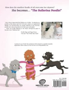 The Poodle Tales Book 7 The Ballerina Poodle | Mindstir Media Book Cover