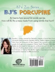 BJs Porcupine BJs Zoo Series cover | Mindstir Media Book Cover