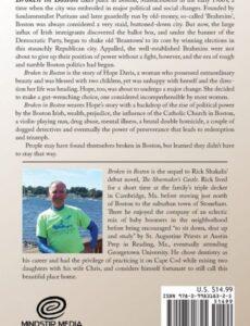 Broken in Boston part 2 | Mindstir Media Book Cover