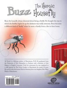Buzz the Heroic Housefly al nettel   Mindstir Media Book Cover