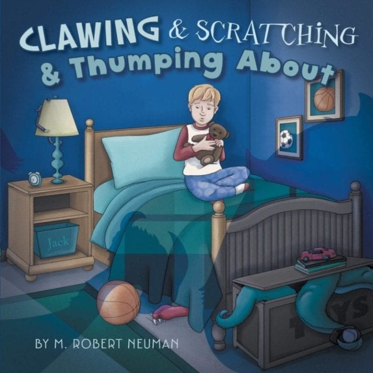 Clawing Scratching Thumping About | Mindstir Media Book Cover