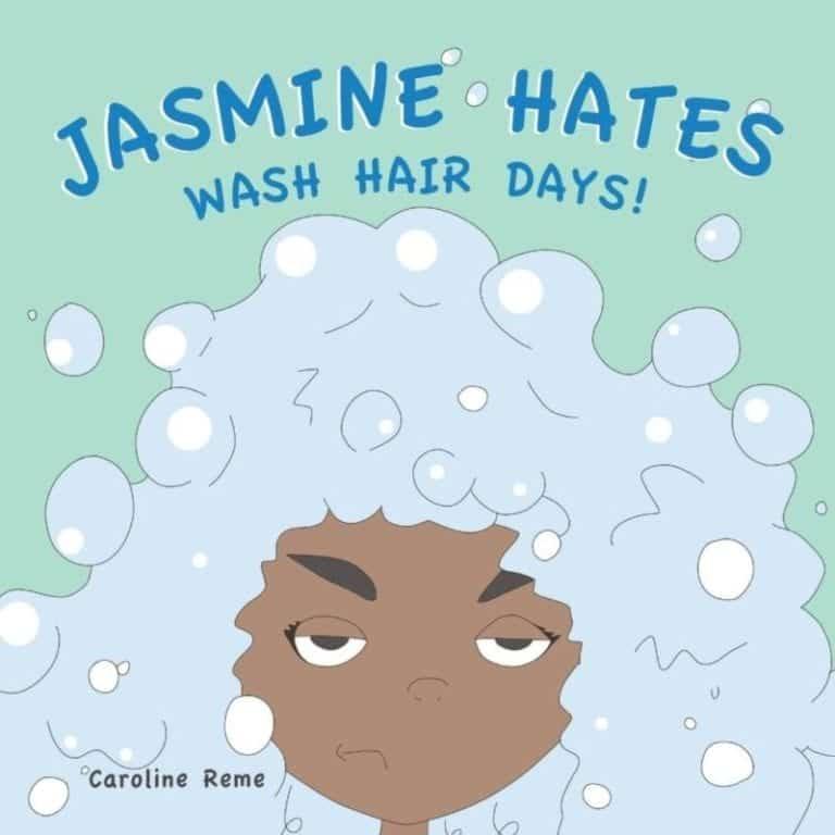 Jasmine Hates Wash Hair Days | Mindstir Media Book Cover
