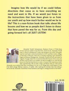 Just Listen alexander terrell | Mindstir Media Book Cover