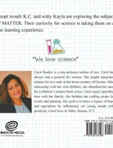 K.C. Kaylas Science Corner Matter Whats the Matter bc | Mindstir Media Book Cover