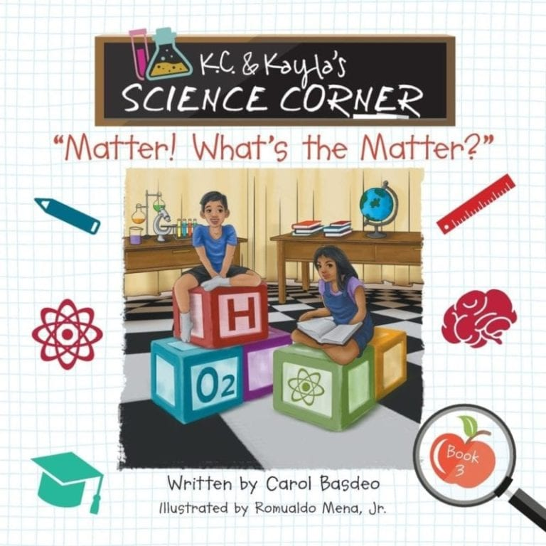 K.C. Kaylas Science Corner Matter Whats the Matter | Mindstir Media Book Cover