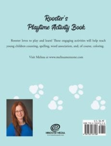 Roosters Playtime Activity Book bc | Mindstir Media Book Cover