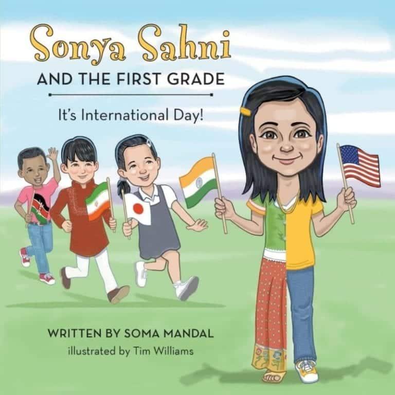 Sonya Sahni and the First Grade | Mindstir Media Book Cover