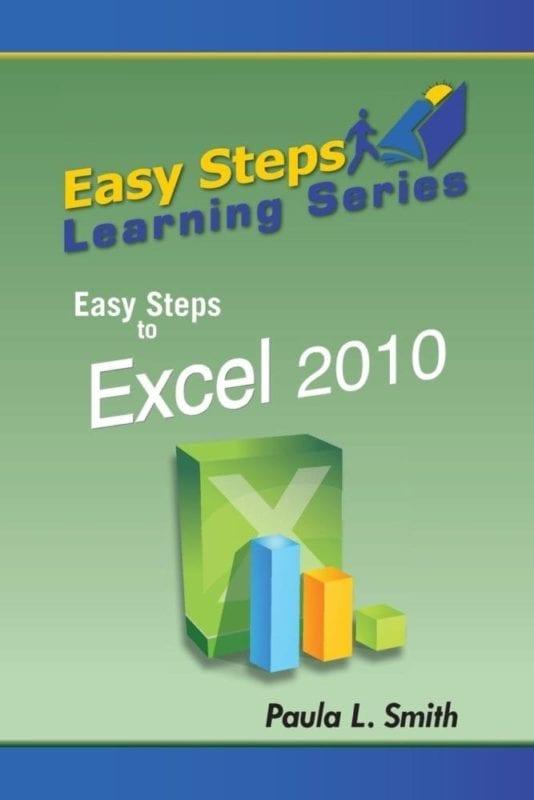 Easy Steps Learning Series Easy Steps to Excel 2010 | Mindstir Media Book Cover