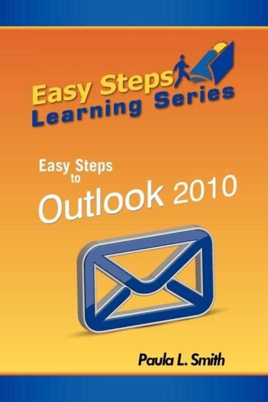 Easy Steps Learning Series Easy Steps to Outlook 2010 | Mindstir Media Book Cover