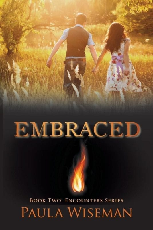 Embraced Book Two Encounters Series by Paula Wiseman 1 | Mindstir Media Book Cover