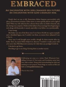 Embraced Book Two Encounters Series by author Paula Wiseman | Mindstir Media Book Cover