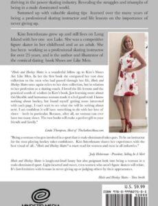Heels Hockey Skates Woman Power Skater memoir | Mindstir Media Book Cover