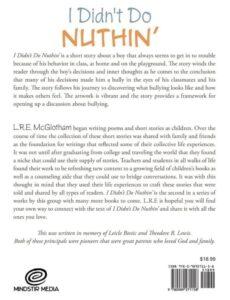 I Didnt Do Nuthin ya book | Mindstir Media Book Cover