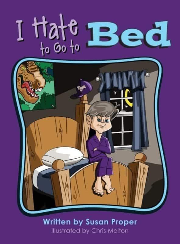 I Hate to Go to Bed | Mindstir Media Book Cover