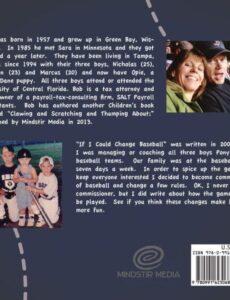 If I Could Change Baseball by neuman | Mindstir Media Book Cover
