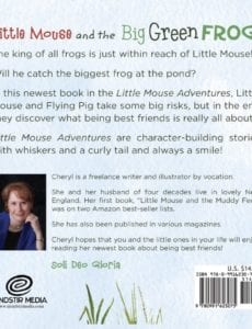 Little Mouse and the Big Green Frog by bloser | Mindstir Media Book Cover