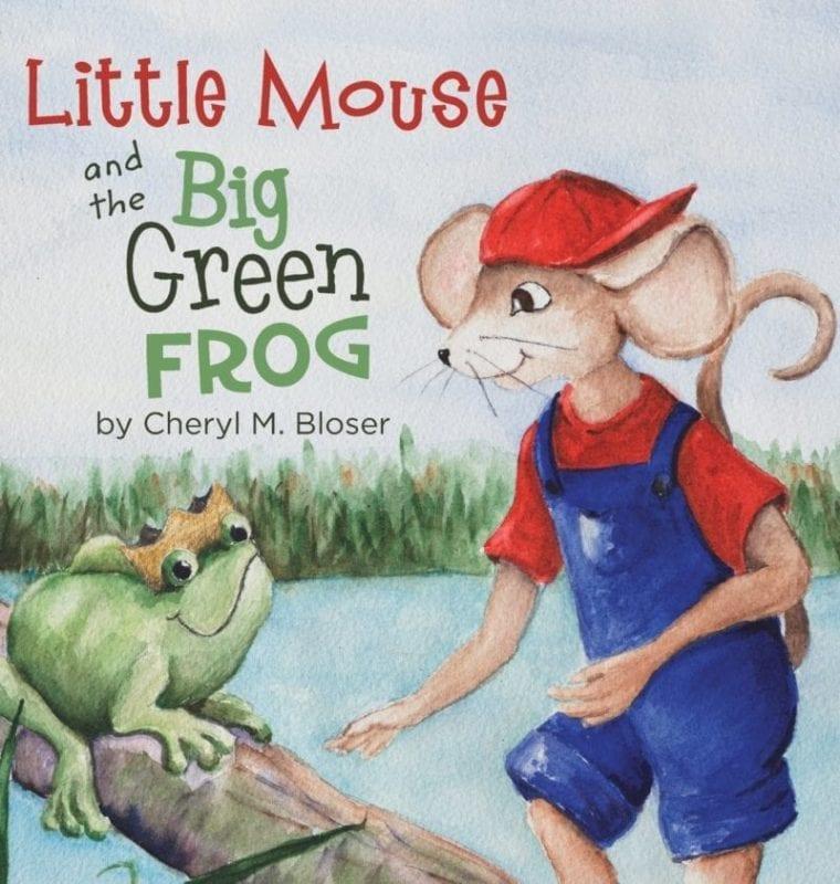 Little Mouse and the Big Green Frog | Mindstir Media Book Cover