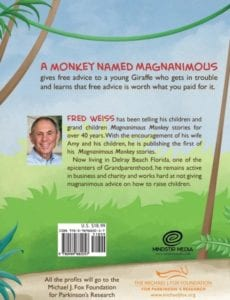 Mag Nan I MOUS Monkey and Gerald Giraffe fred | Mindstir Media Book Cover