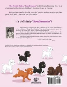 Poodlemania childrens book   Mindstir Media Book Cover