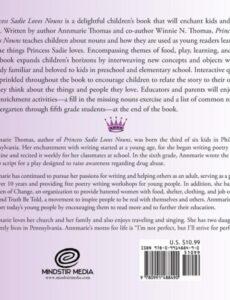 Princess Sadie Loves Nouns book | Mindstir Media Book Cover