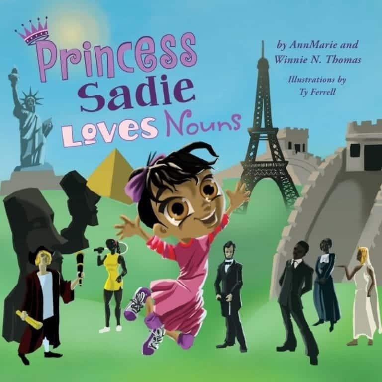 Princess Sadie Loves Nouns | Mindstir Media Book Cover