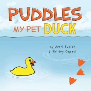 Puddles My Pet Duck | Mindstir Media Book Cover