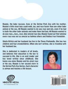 Reggies Great Race childrens book | Mindstir Media Book Cover