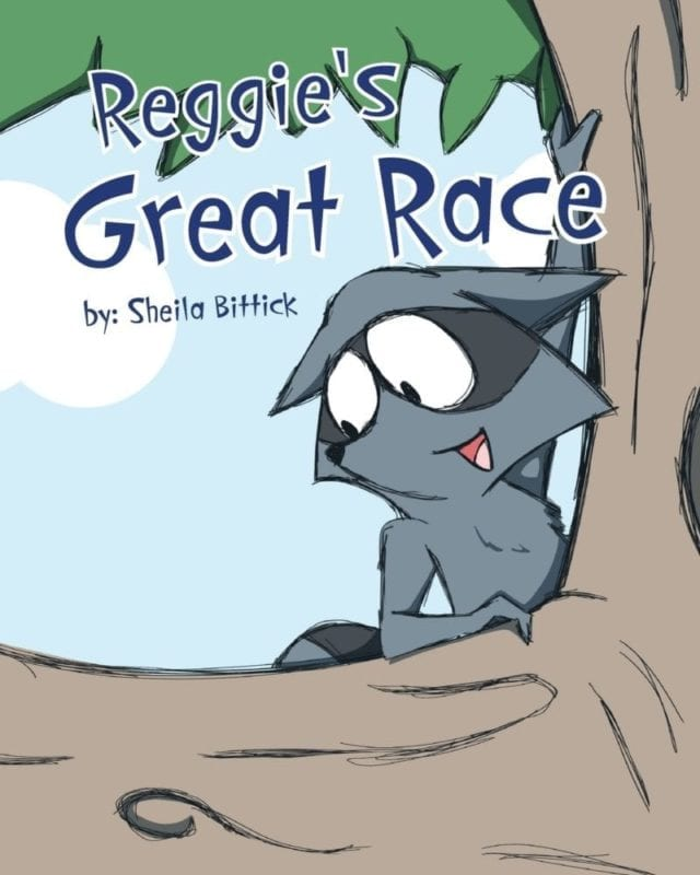 Reggies Great Race | Mindstir Media Book Cover