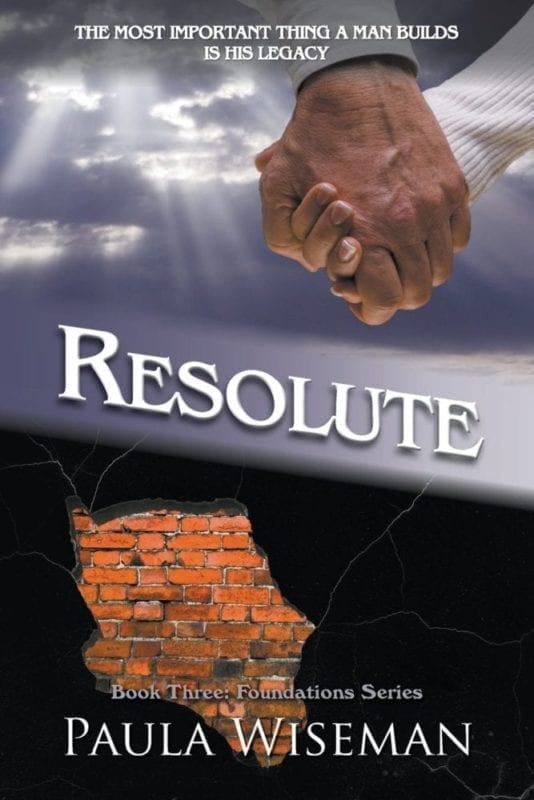 Resolute Book Three Foundations Series by Paula Wiseman | Mindstir Media Book Cover