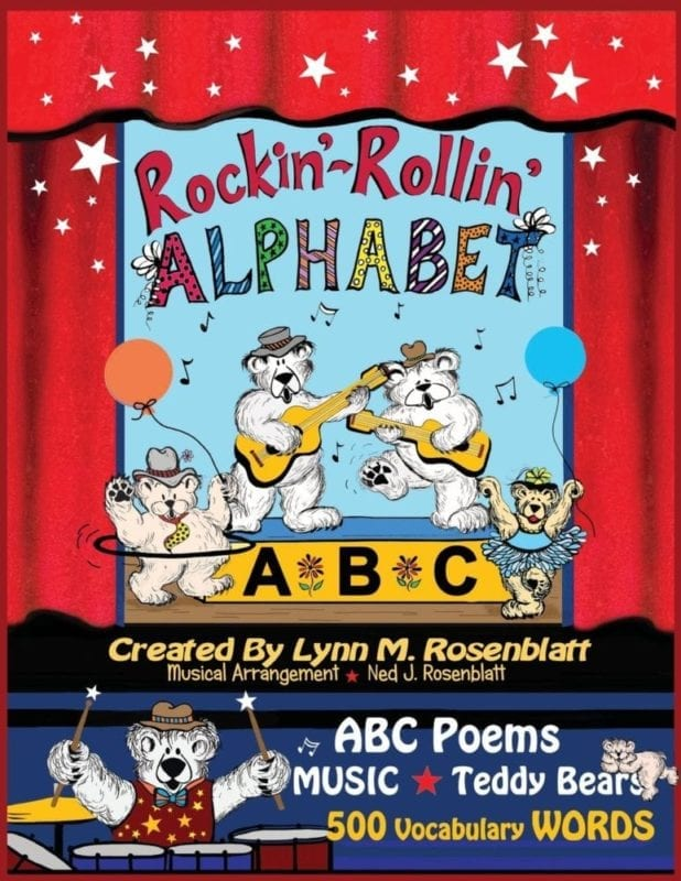 Rockin Rollin Alphabet | Mindstir Media Book Cover