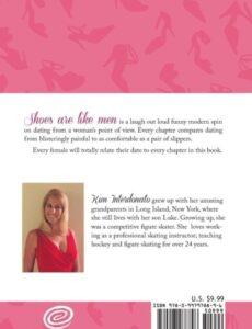 Shoes Are Like Men by author Kim Interdonato | Mindstir Media Book Cover