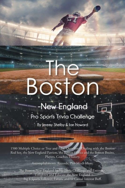 The Boston New England Pro Sports Trivia Challenge | Mindstir Media Book Cover