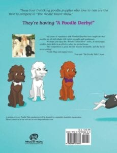 The Poodle Tales A Poodle Derby | Mindstir Media Book Cover