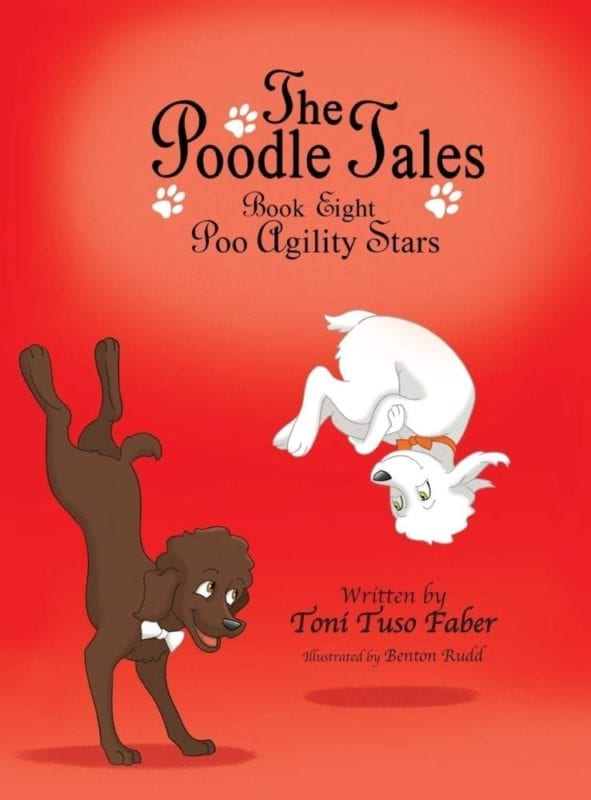 The Poodle Tales Book Eight Poo Agility Stars | Mindstir Media Book Cover