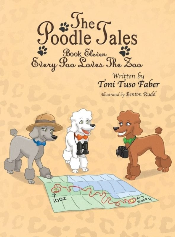 The Poodle Tales Book Eleven Every Poo Loves the Zoo | Mindstir Media Book Cover