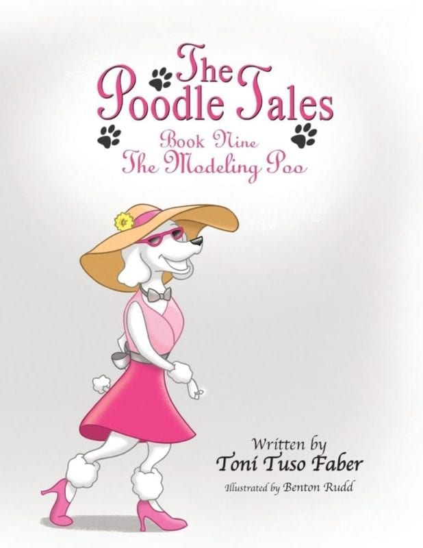 The Poodle Tales Book Nine The Modeling Poo | Mindstir Media Book Cover