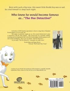 The Poodle Tales Book Six The Poo Detective | Mindstir Media Book Cover