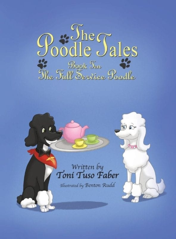 The Poodle Tales Book Ten The Full Service Poodle | Mindstir Media Book Cover