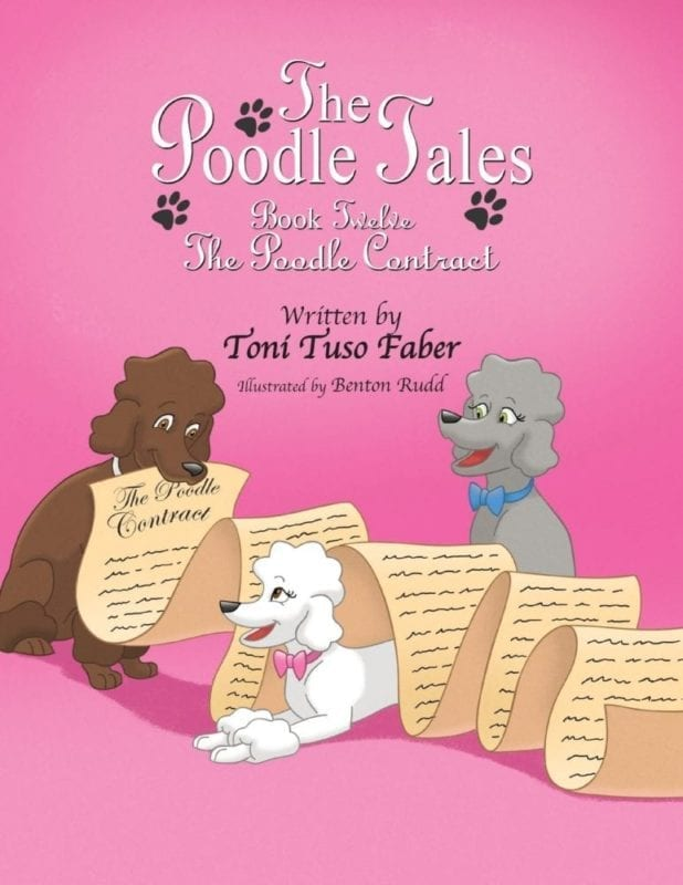 The Poodle Tales Book Twelve The Poodle Contract | Mindstir Media Book Cover