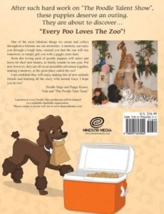 The Poodle Tales Every Poo Loves the Zoo | Mindstir Media Book Cover