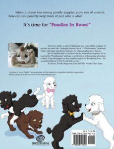 The Poodle Tales Poodles In Bows | Mindstir Media Book Cover