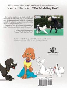 The Poodle Tales The Modeling Poo | Mindstir Media Book Cover