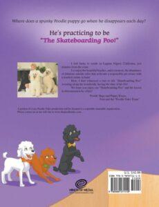 The Poodle Tales The Skateboarding Poodle   Mindstir Media Book Cover