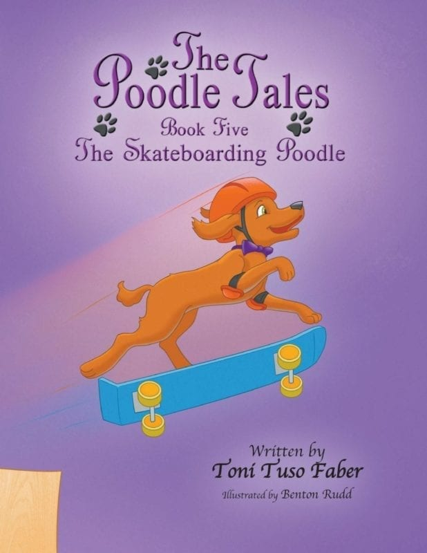 The Skateboarding Poodle | Mindstir Media Book Cover