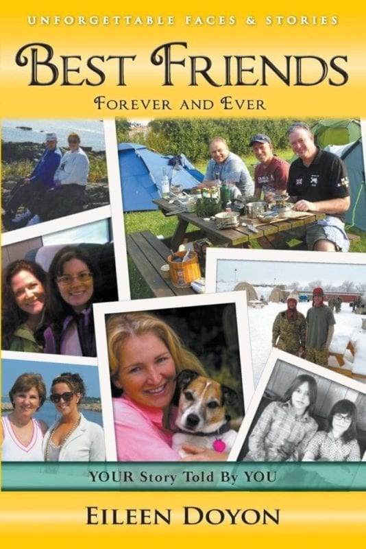 Unforgettable Faces Stories Best Friends Forever and Ever | Mindstir Media Book Cover