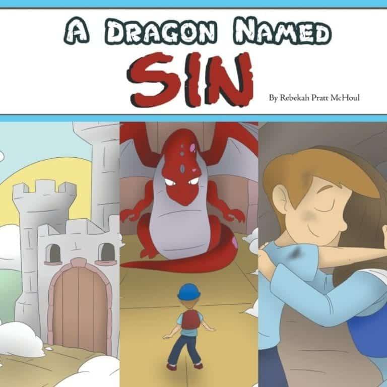 A Dragon Named Sin by Rebekah Pratt McHoul | Mindstir Media Book Cover