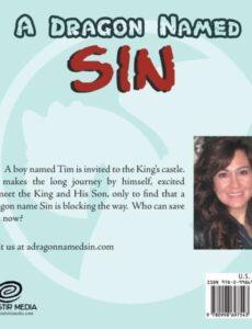 A Dragon Named Sin by author Rebekah Pratt McHoul | Mindstir Media Book Cover