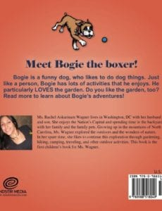 Bogie the Boxer Gardens rachel wagner | Mindstir Media Book Cover