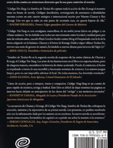 CODIGO YIN YANG La Sombra de Tenkai Bo Spanish Edition | Mindstir Media Book Cover