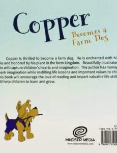 Copper Becomes a Farm Dog pamela appleman | Mindstir Media Book Cover